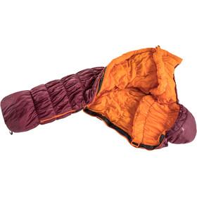 deuter Exosphere -6° SL Sleeping Bag Women maron/mango